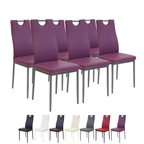 esszimmerstuhl violett